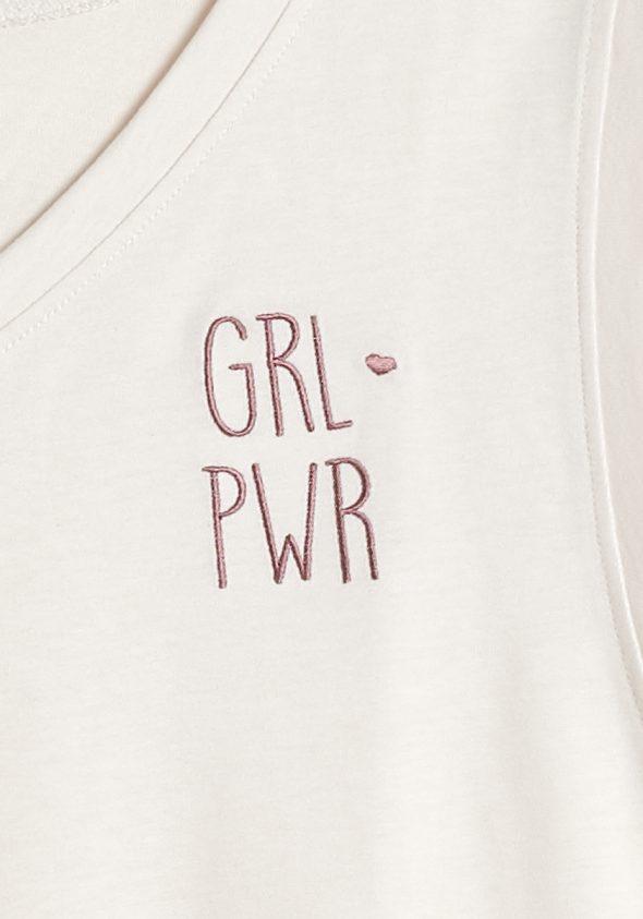 GRL PWR / Ujjatlan T-shirt