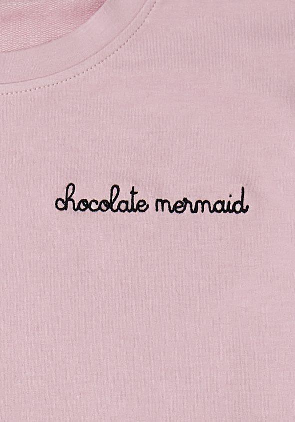 a901733e36 Chocolate Mermaid / Oldalt csomózott pulóver - Chocolate Mermaid