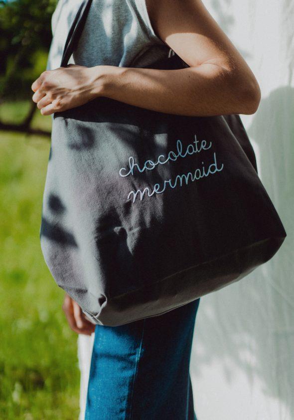 Chocolate Mermaid / Beach bag
