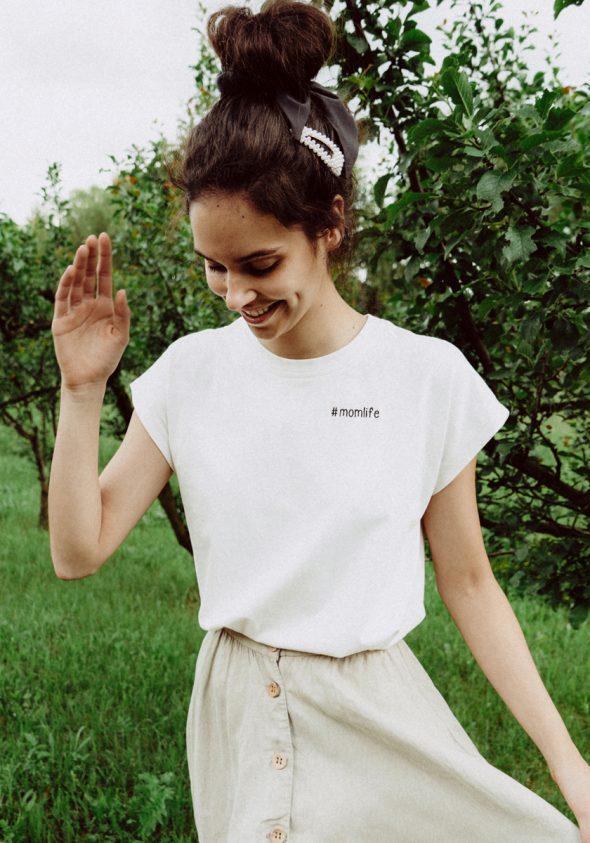 #momlife / Ujjatlan T-shirt