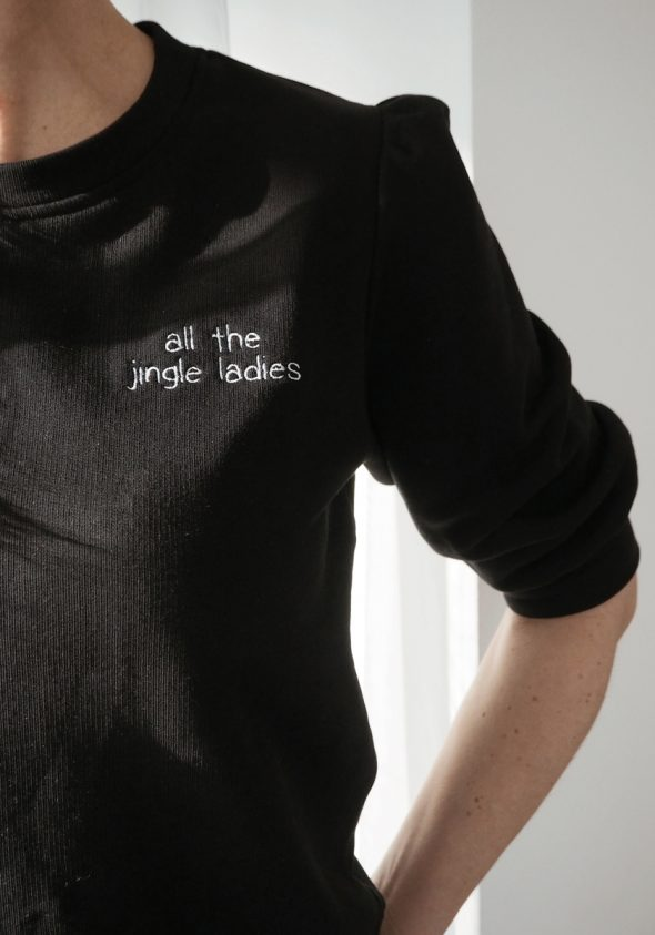 All the jingle ladies / Cropped pulóver